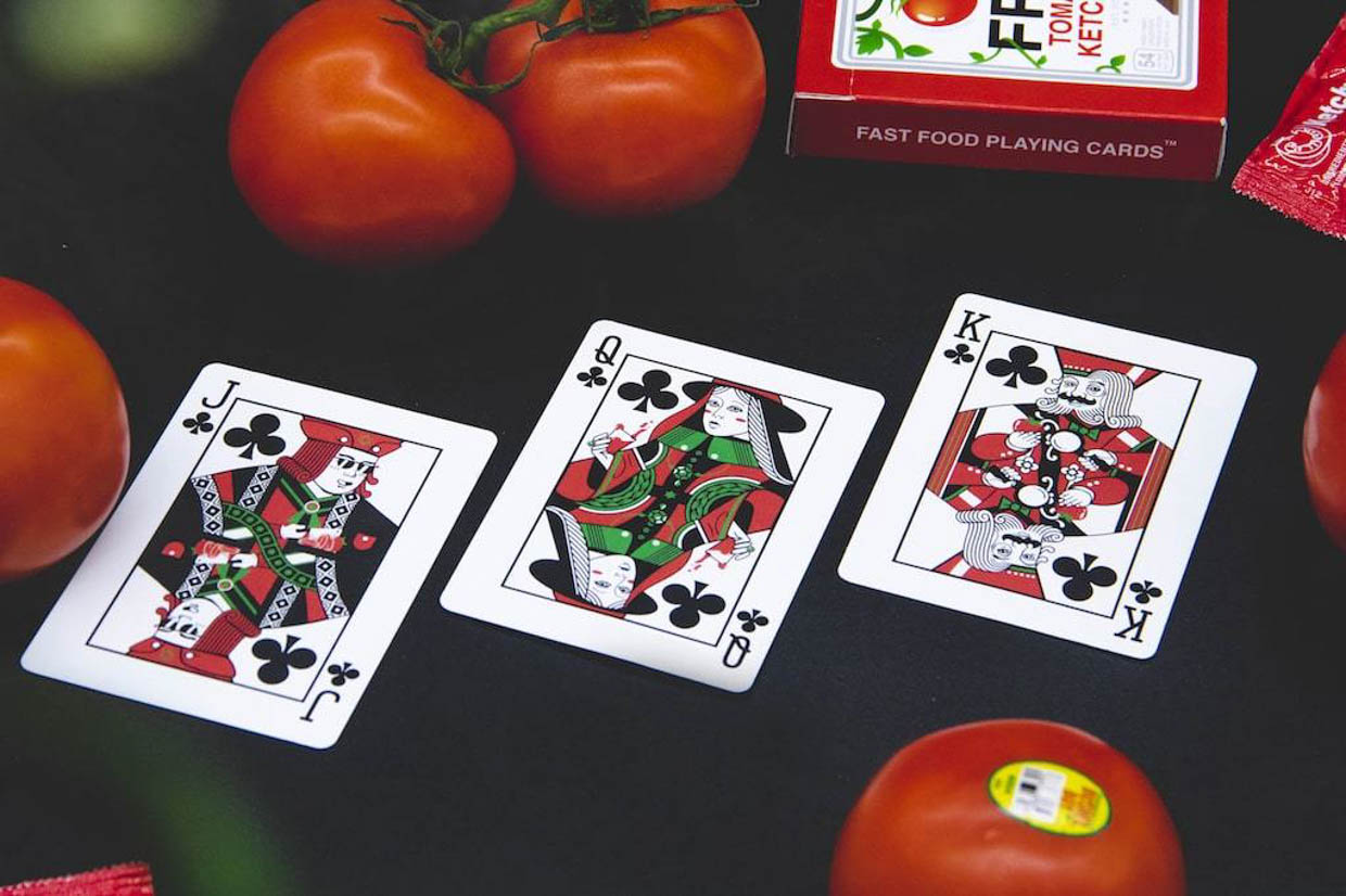 Ketchup + Fries Playing Cards