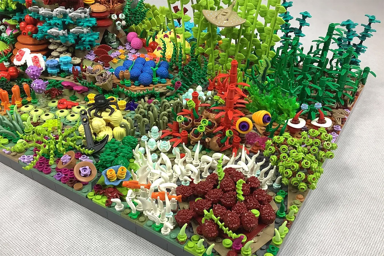 LEGO Ideas Great Coral Reef