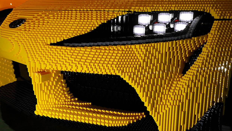 Full-Size LEGO Toyota GR Supra