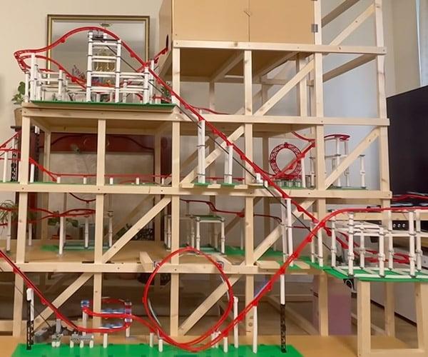Building a LEGO Roller Coaster
