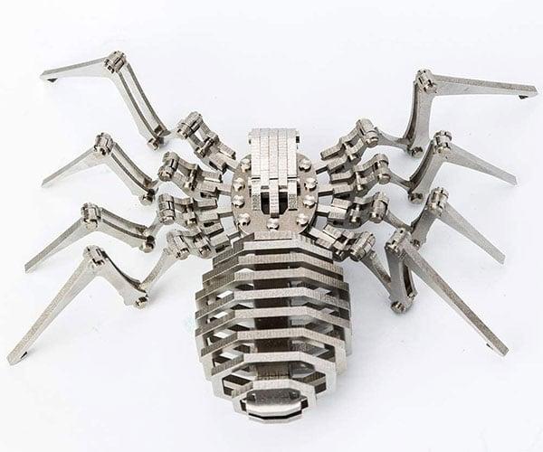 Madsteel Metal Spider Model