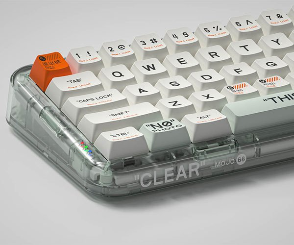 Mojo68 See-Through Keyboard