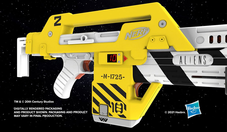 NERF LMTD Aliens M41-A Blaster