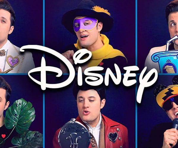 One Man '90s Disney Movie Medley