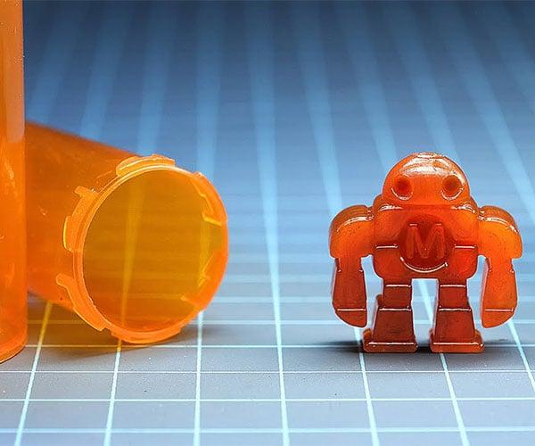 Turning Plastic Pill Bottles Into Robots