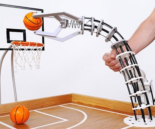 Robot Arm Basketball