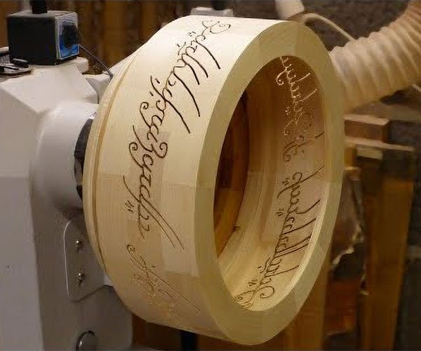 Woodturning The One Ring