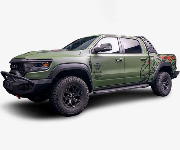 Win a 2021 RAM TRX Pickup
