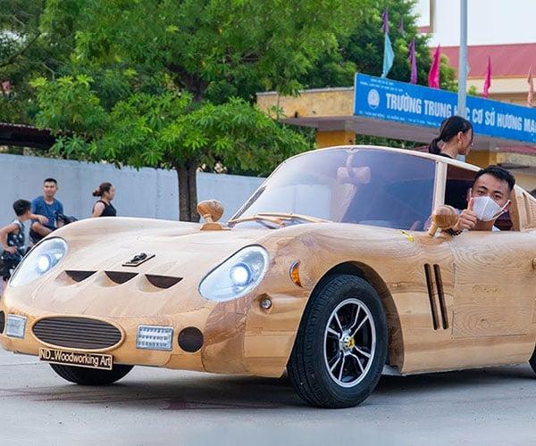 Wooden Ferrari GTO 250