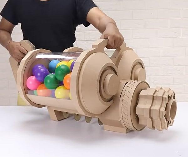 Making a Cardboard Ball Blaster