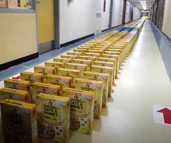 Cereal Box Dominoes