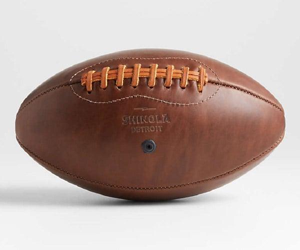 Crate and Barrel x Shinola Leather Football