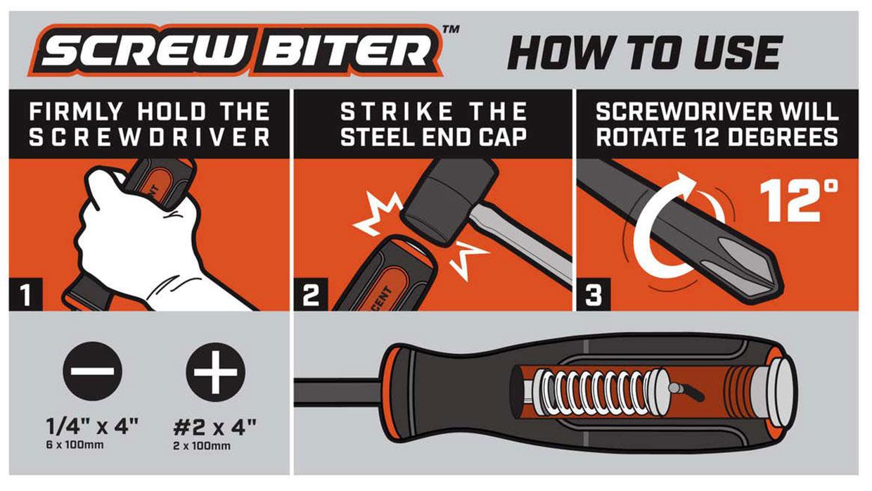 Screw Biter Screw Extractor Drivers