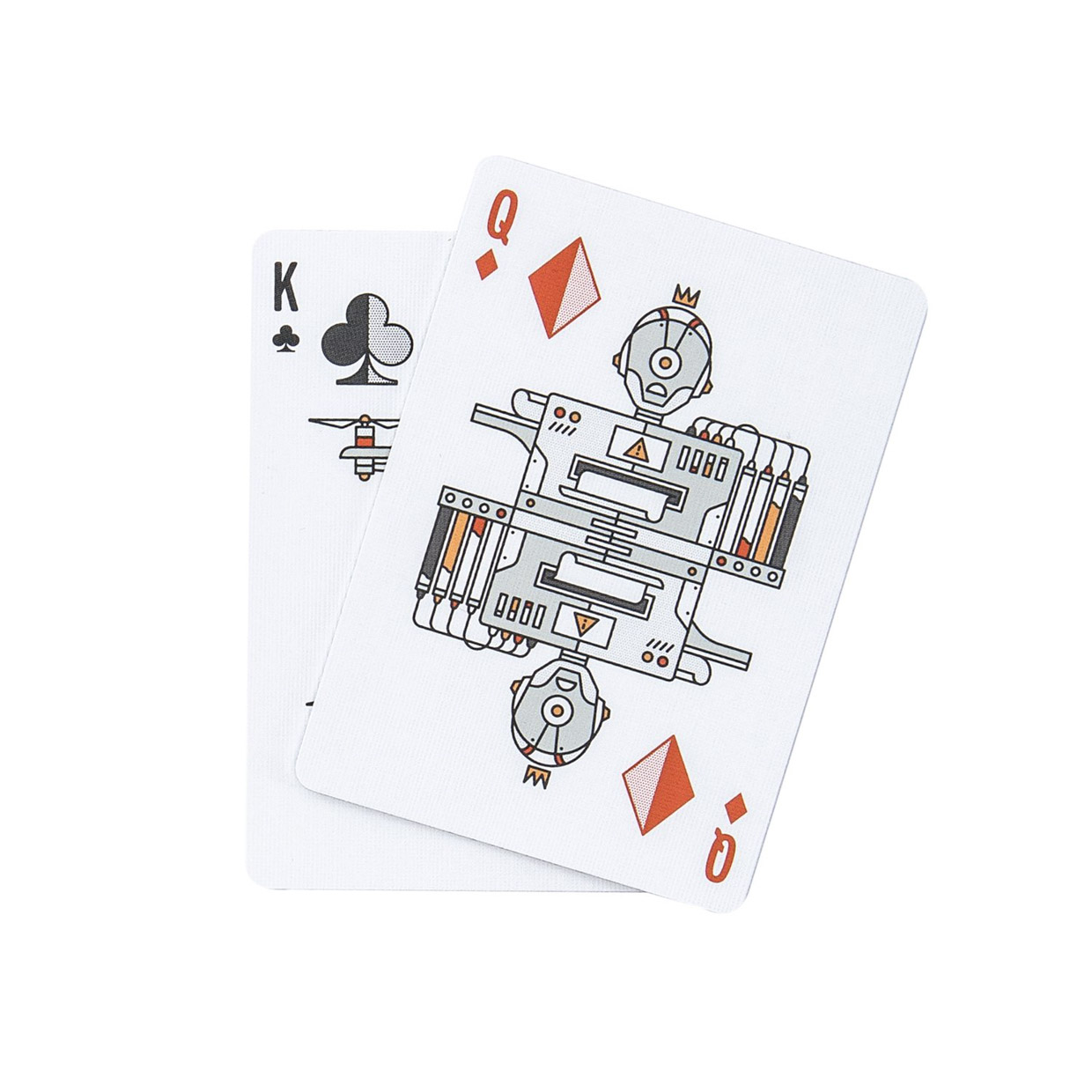 Deck of Robots Playing Cards