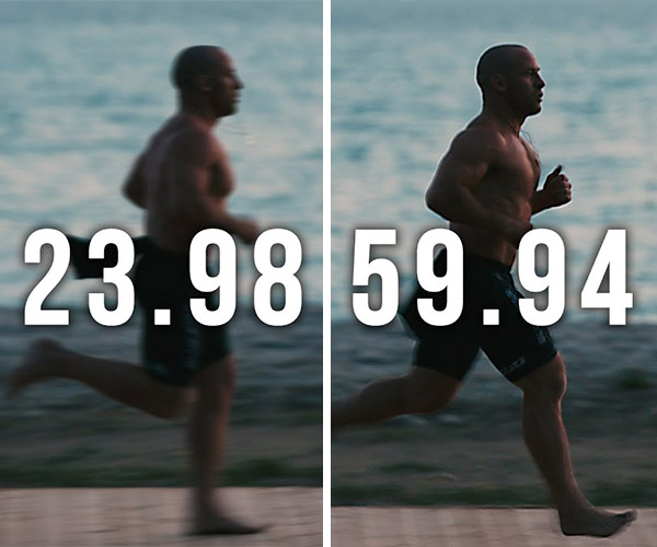 What Frame Rate Should You Shoot Video With?