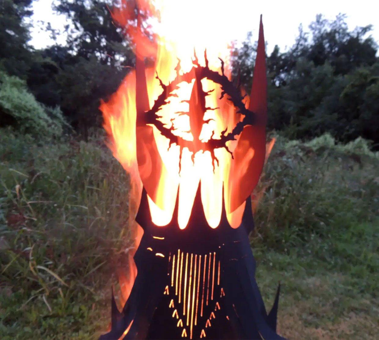 Eye of Sauron Fire Pit