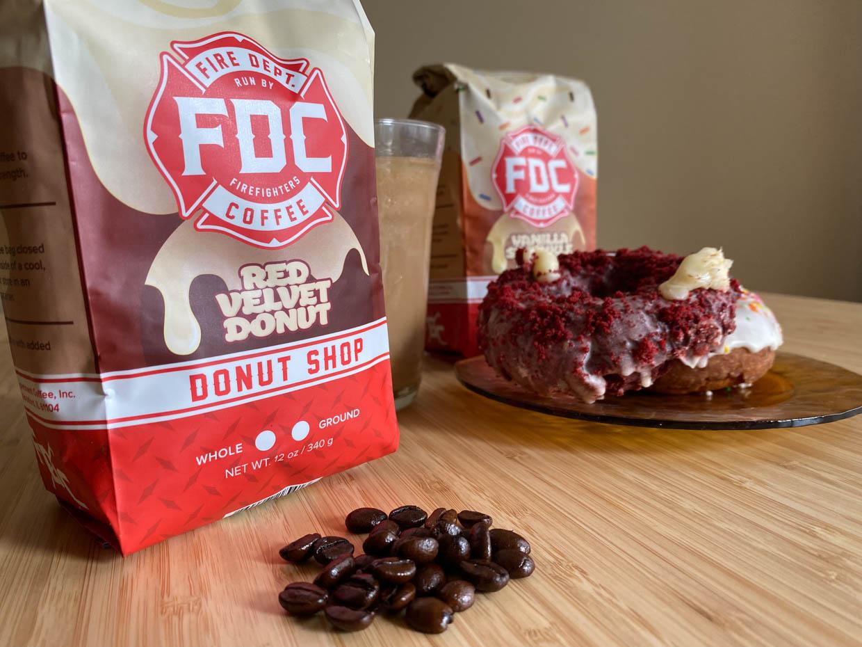 Fire Dept. Donut Shop Coffee