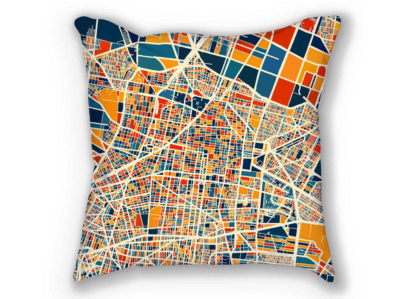 iLikeMaps City Map Pillows