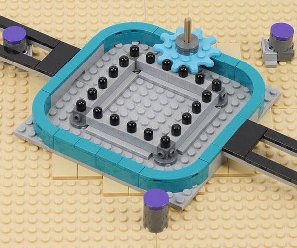 LEGO Mangle Rack Mechanisms