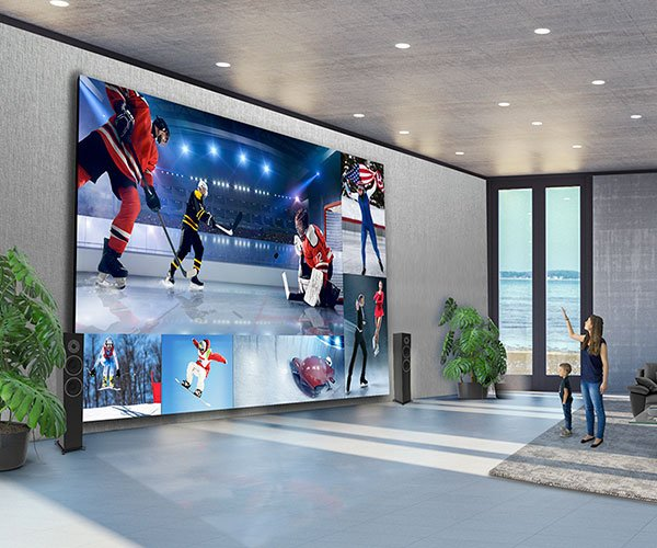 LG DVLED Extreme Home Cinema Displays