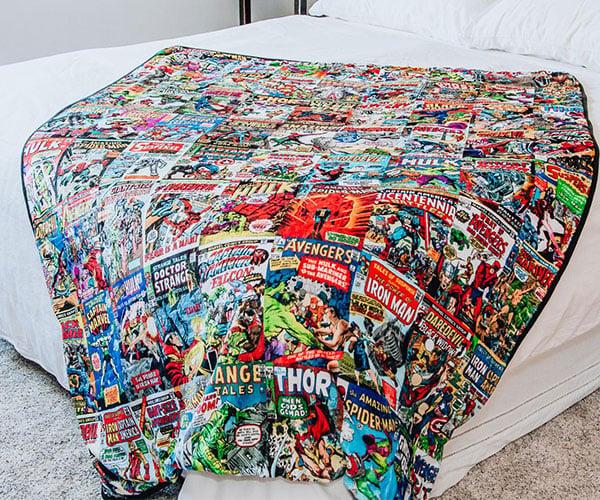 Marvel Comics Fleece Throw Blanket