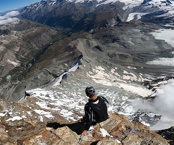 Matterhorn Wingsuit Flight