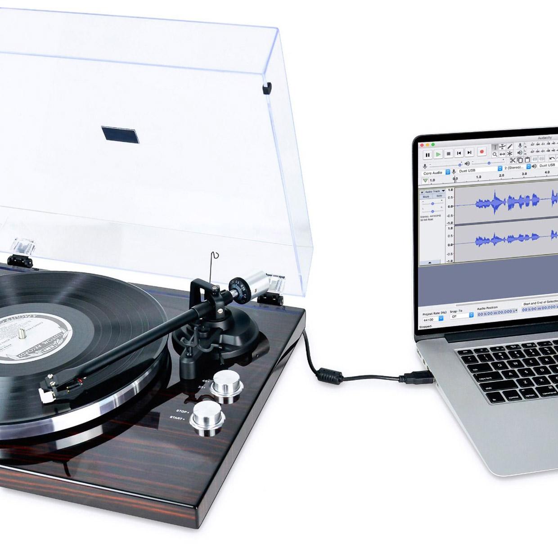mbeat PT-18K Bluetooth Turntable