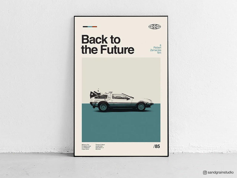 Midcentury Modern Movie Posters