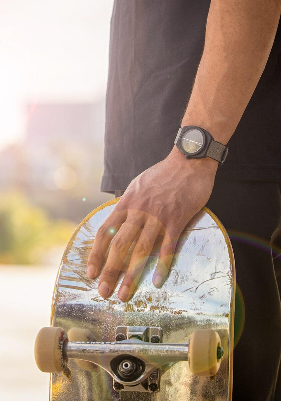 Nixon Light-Wave Solar Watch