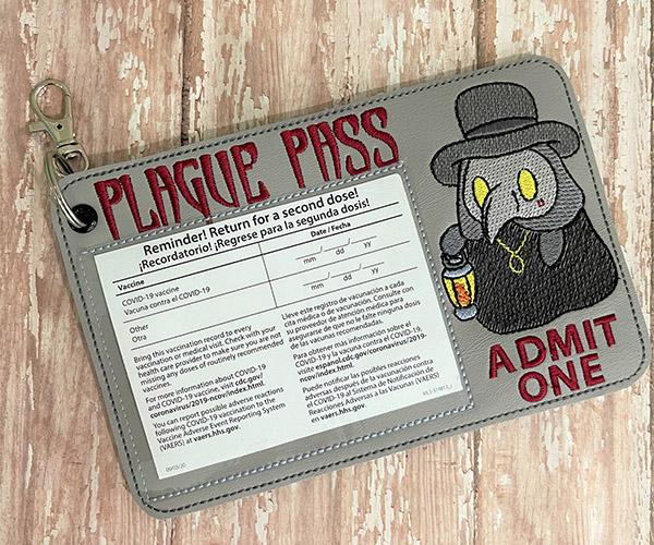 Plague Pass Vaccine Card Holder