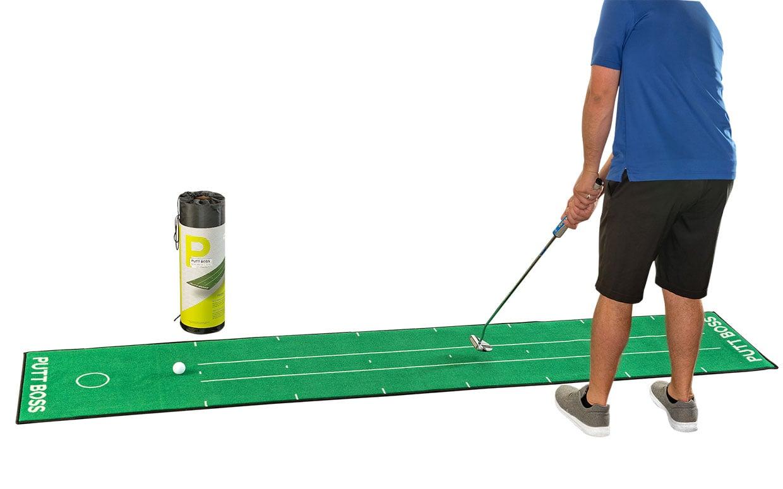 PUTT BOSS Semi-Pro Series Golf Mat