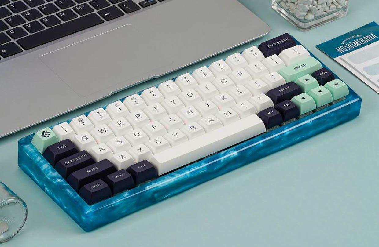 Alopow Resin Case Keyboard