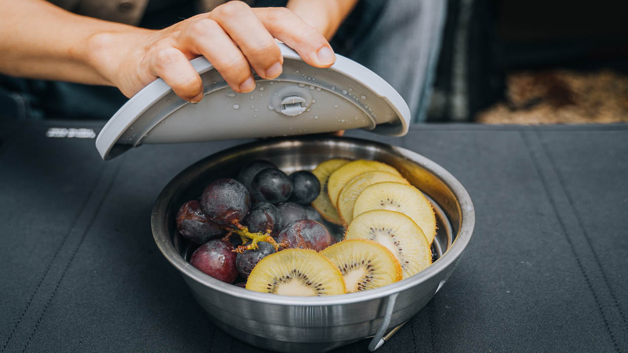 SimpleReal Collapsible Stainless Steel Cookware