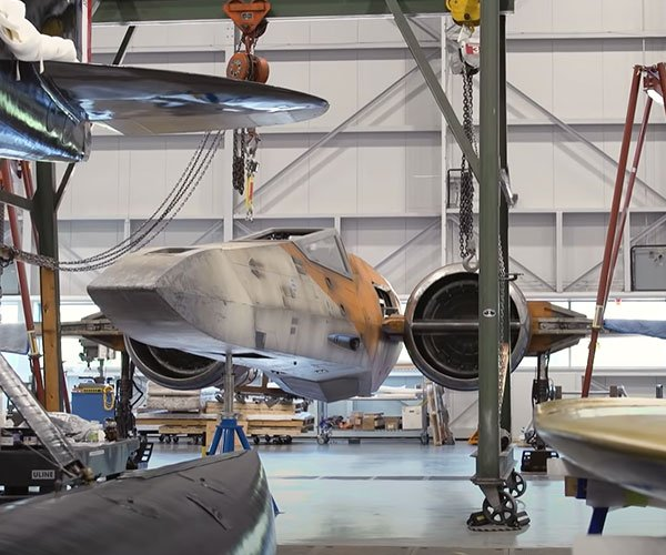 The Smithsonian's X-Wing Fighter