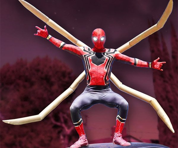 Building an Iron Spider-Man Suit