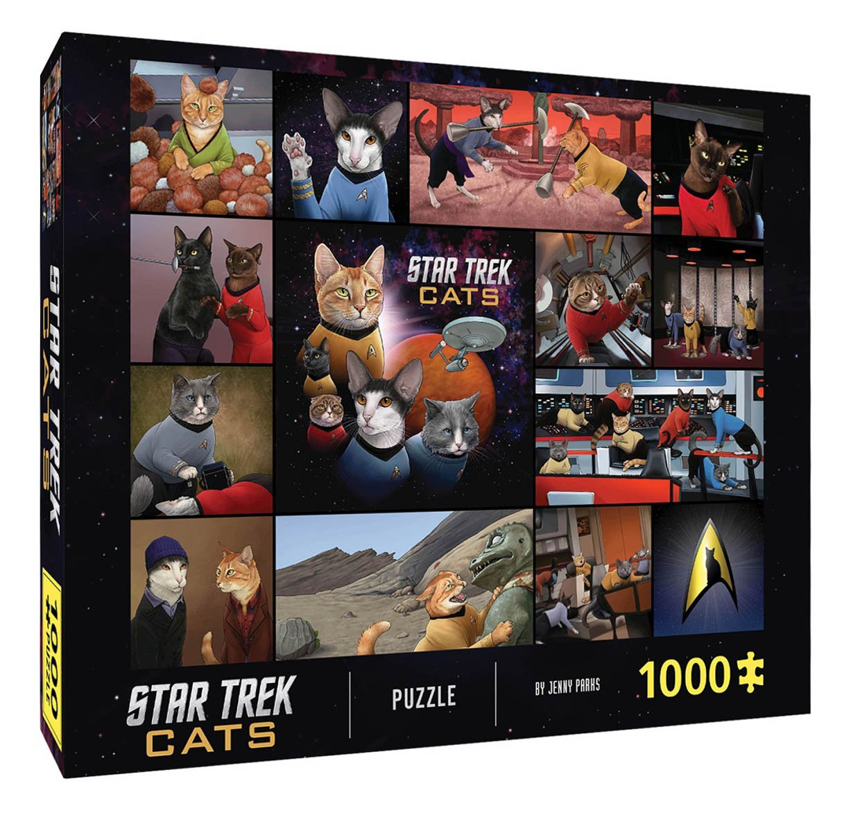 Star Trek Cats Puzzle