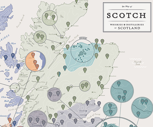 The Map of Scotch