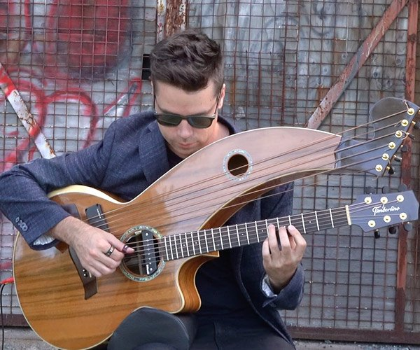 Where Is My Mind on Harp Guitar