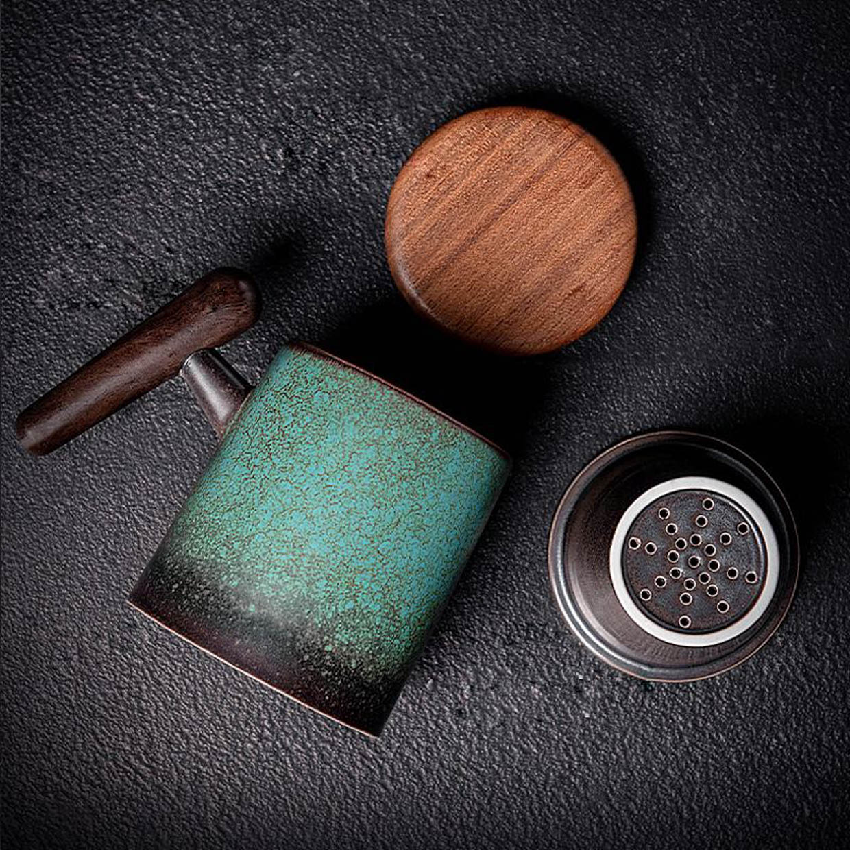 Coffeify Wood-Handle Mugs
