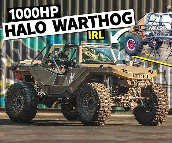 1000 HP Halo Warthog