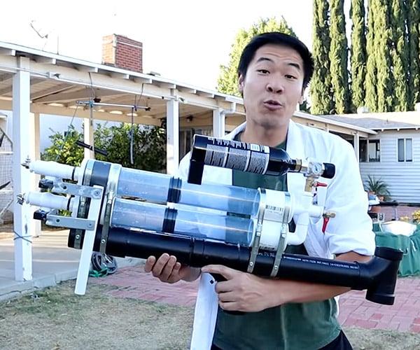 Fixing the Mythbusters' Water Stun Gun