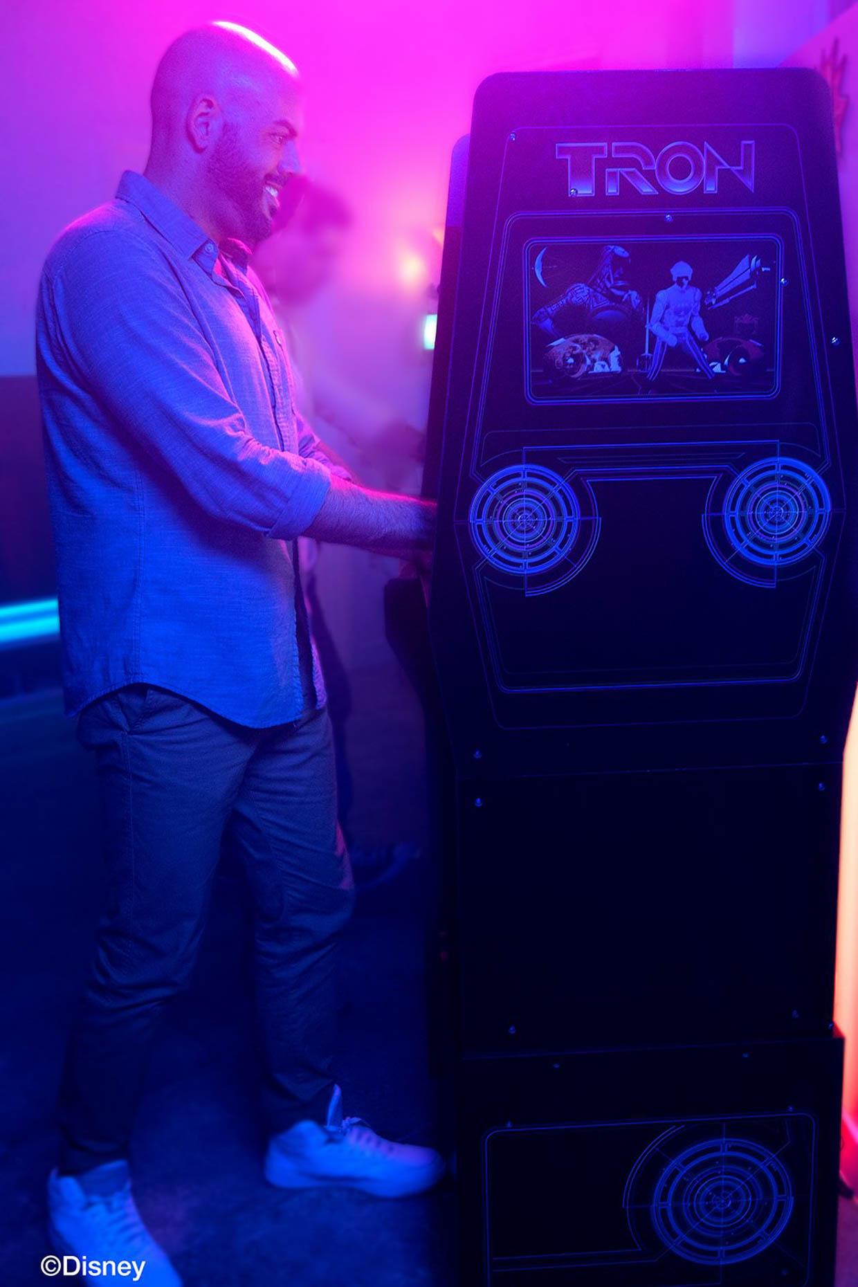 Arcade1up TRON Arcade Machine