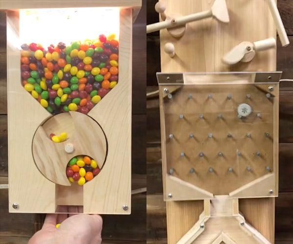 Bottle Cap Plinko Machine (w/Candy)