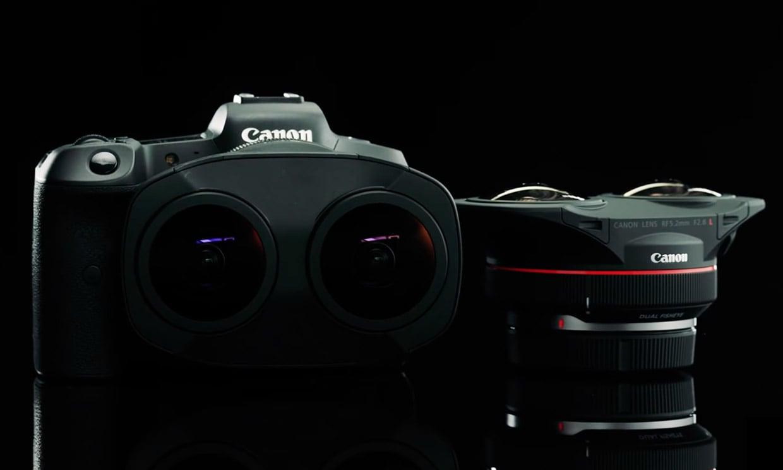 Canon VR Dual Fisheye EOS R Lens