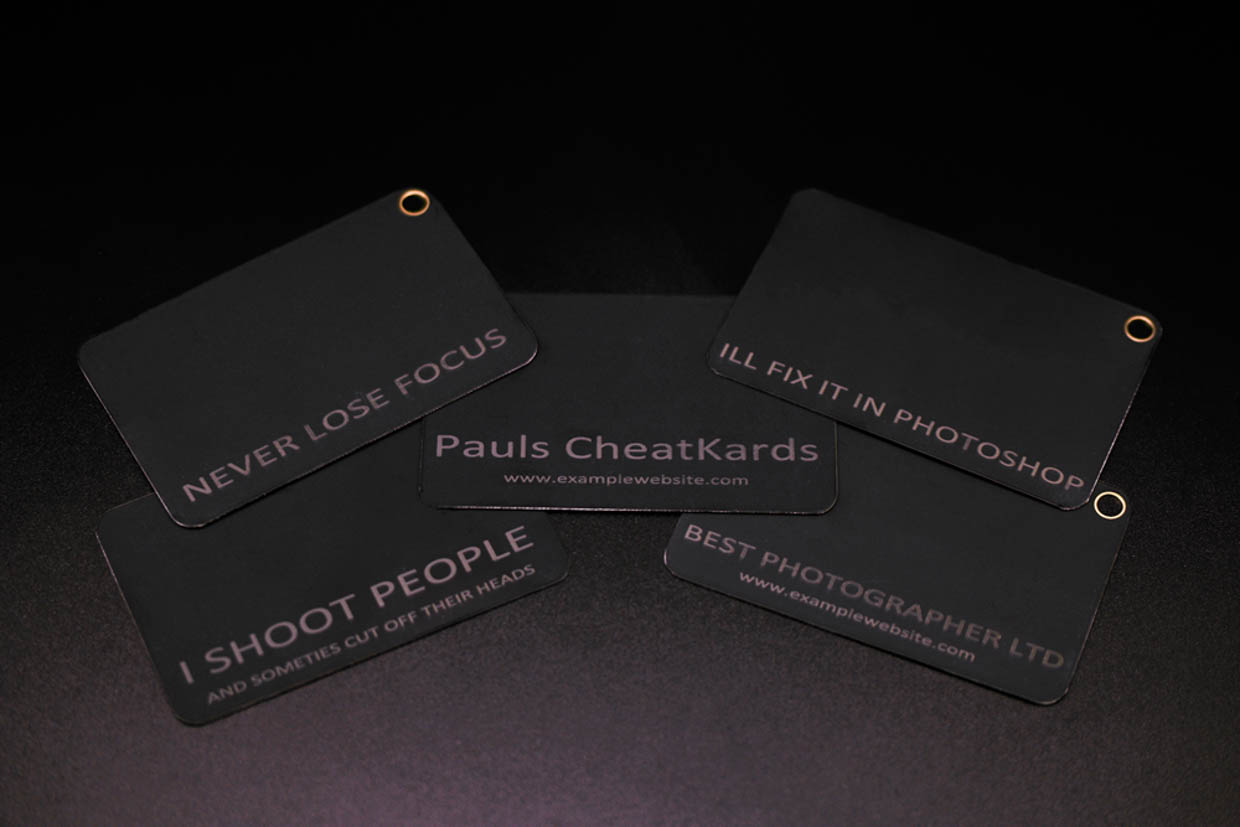 CheatKard Photography Reference Cards