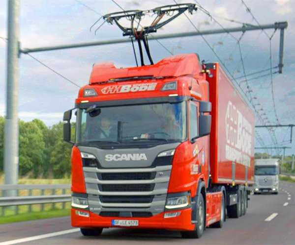 Electric Truck Highway