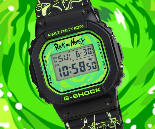 G-SHOCK x Rick and Morty Watch