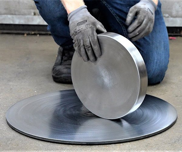 Machining a Giant Euler's Disk