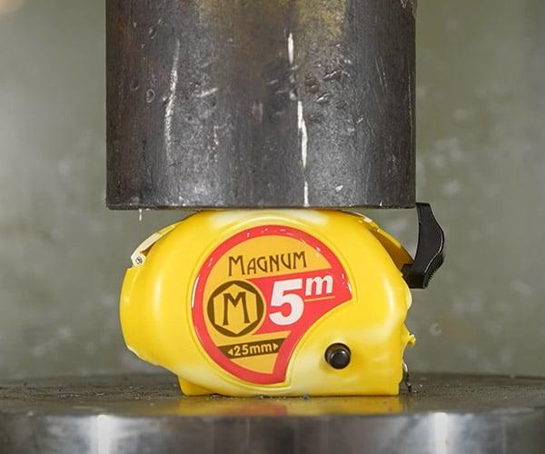 Hydraulic Press vs. Tools