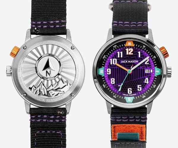 Jack Mason Solar Watch